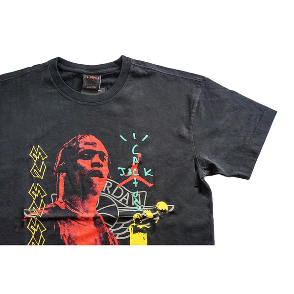 NIKE TRAVIS SCOTT MJ TEE 1 BLACK-T-Shirts-Nike-L-HYPESTEIN