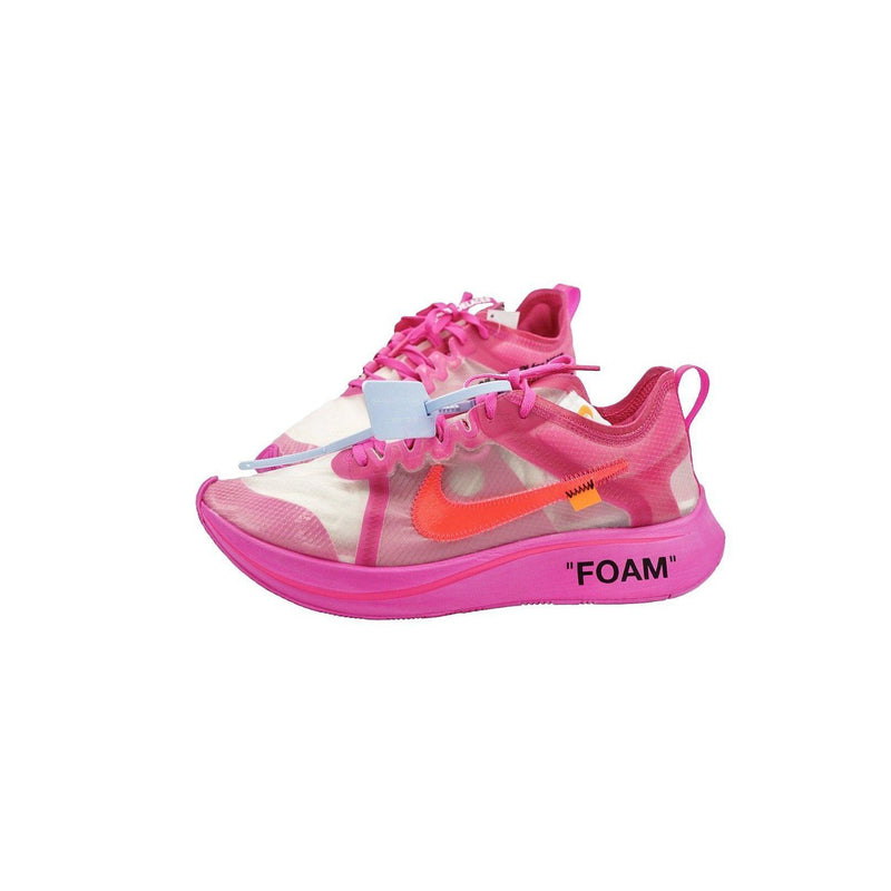 "OFF WHITE X NIKE ZOOM FLY ""PINK""-Sneakers-Nike-US 9.5 / EU 43-HYPESTEIN"