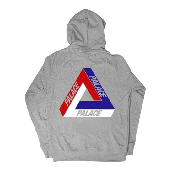 PALACE BRIT TRI FERG HOODED SWEATSHIRT