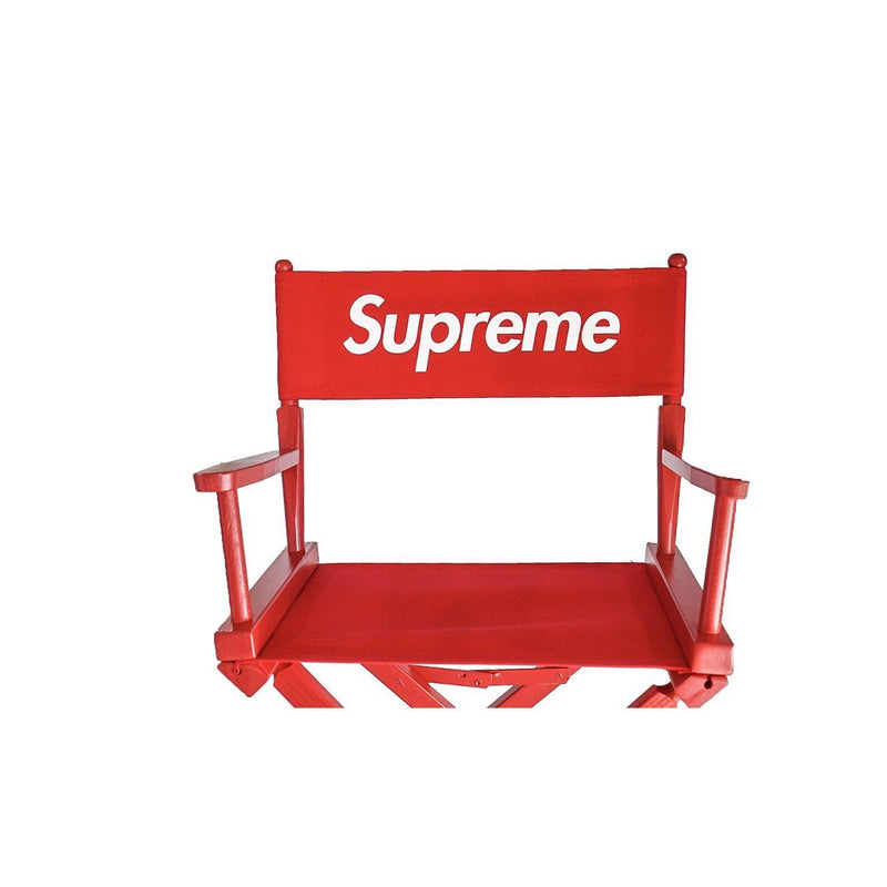 SUPREME DIRECTOR'S CHAIR RED-Accessories-Supreme-OS-HYPESTEIN