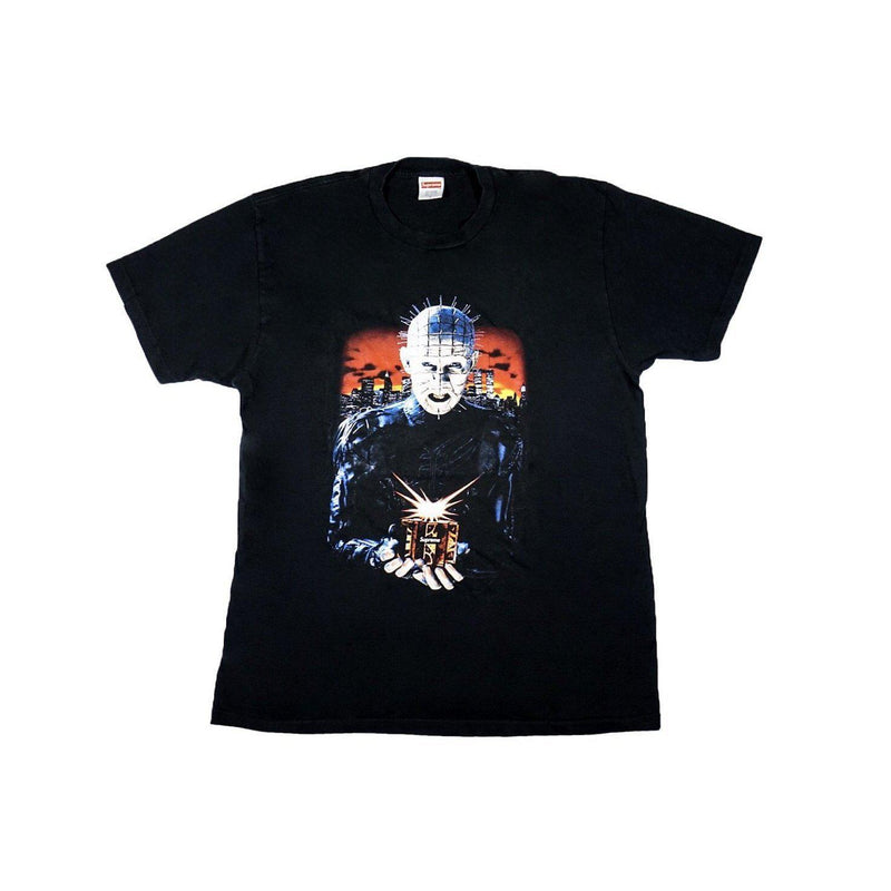 SUPREME HELL RAISER HELL ON EARTH TEE BLACK-T-Shirts-Supreme-L (PRE-OWNED)-HYPESTEIN