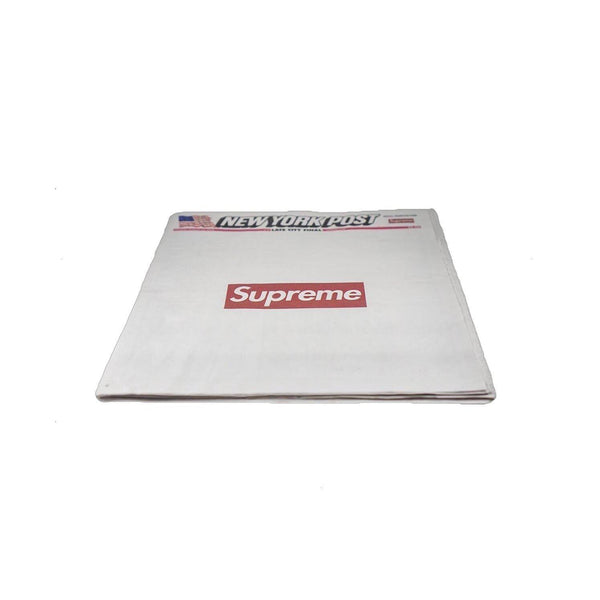 SUPREME NEW YORK POST NEWSPAPER-Accessories-Supreme-HYPESTEIN