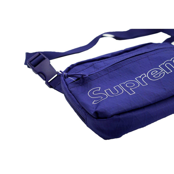 SUPREME SHOULDER BAG PURPLE FW 18-Accessories-Supreme-OS (PRE-OWNED)-HYPESTEIN