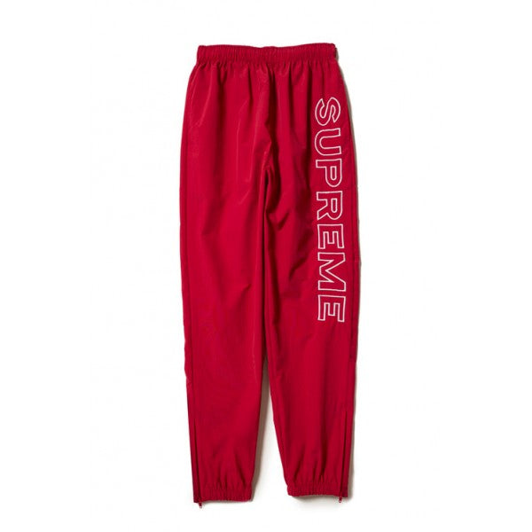 SS17 SUPREME SPLIT TRACK PANT RED