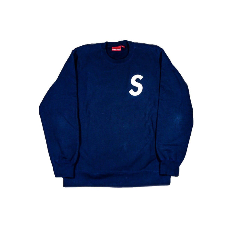 SUPREME TONAL S LOGO SWEATSHIRT-Hoodies and Sweatshirts-Supreme-XL (PRE-OWNED)-HYPESTEIN