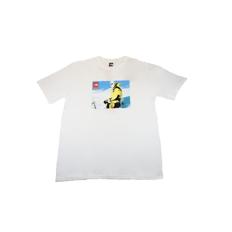 SUPREME X THE NORTH FACE PHOTO TEE WHITE-T-Shirts-Supreme-M-HYPESTEIN