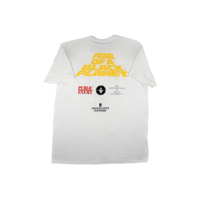 SUPREME X UNDERCOVER/PUBLIC ENEMY WHITE HOUSE TEE WHITE-T-Shirts-Supreme-XL (PRE-OWNED)-HYPESTEIN