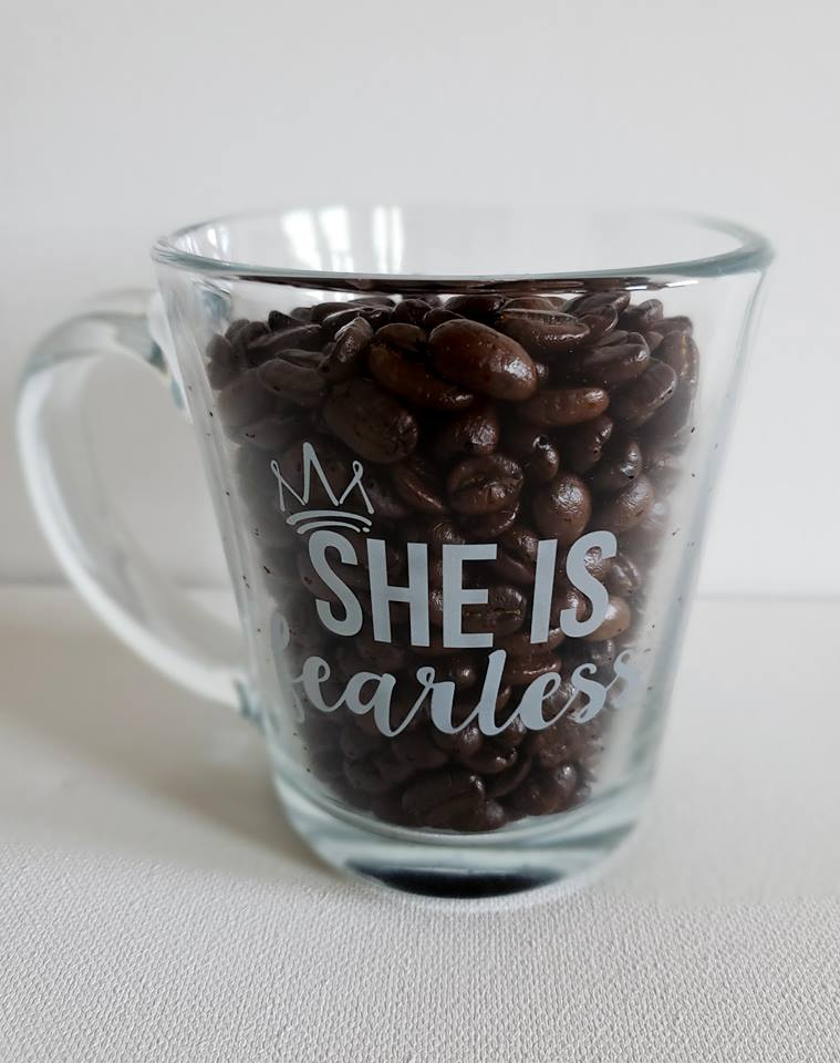 SHE IS Fearless Mug
