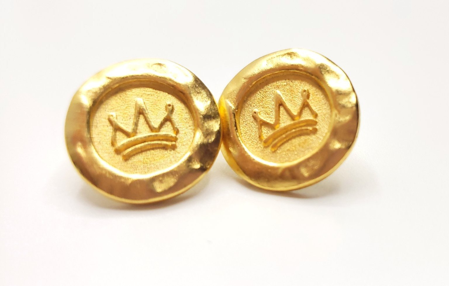 Crown of Life Earrings