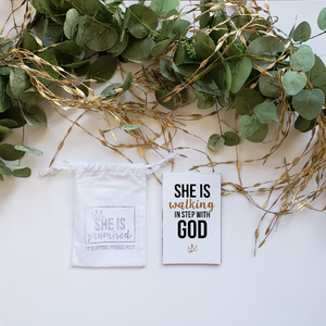 She is Promised: 12 Scripture Pack