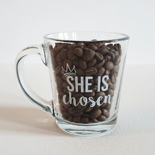 SHE IS Chosen Mug
