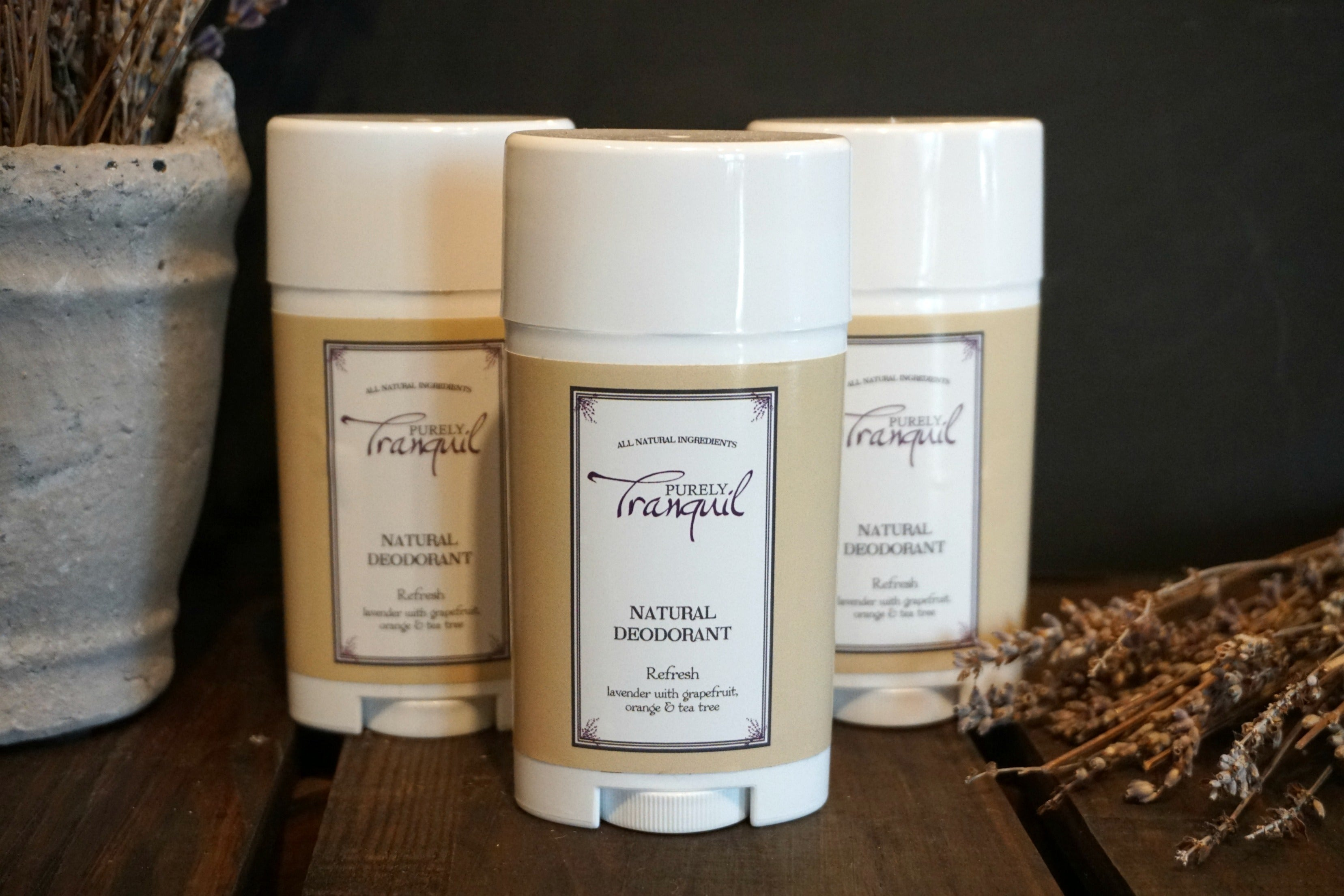 Purely Tranquil Natural Deodorant