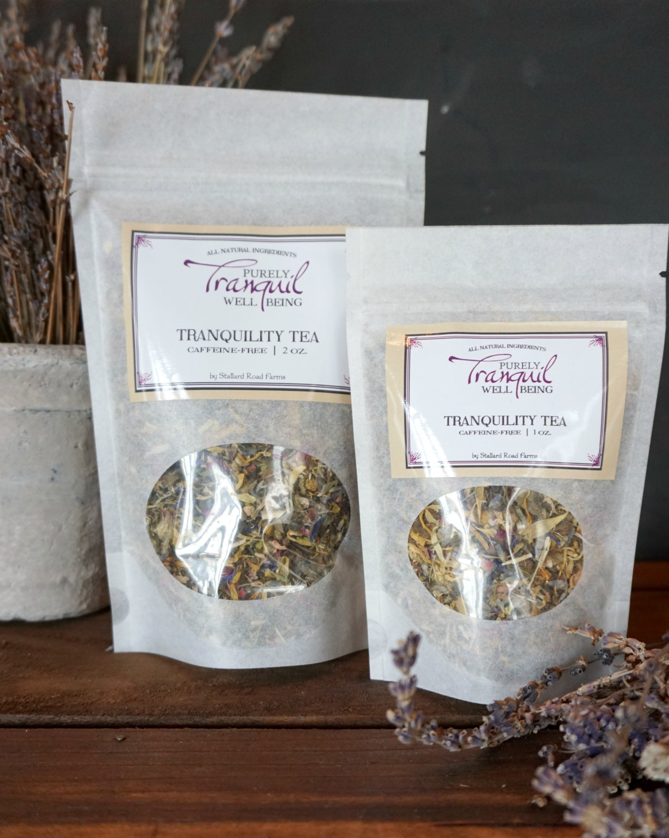 Purely Tranquil Tranquility Tea