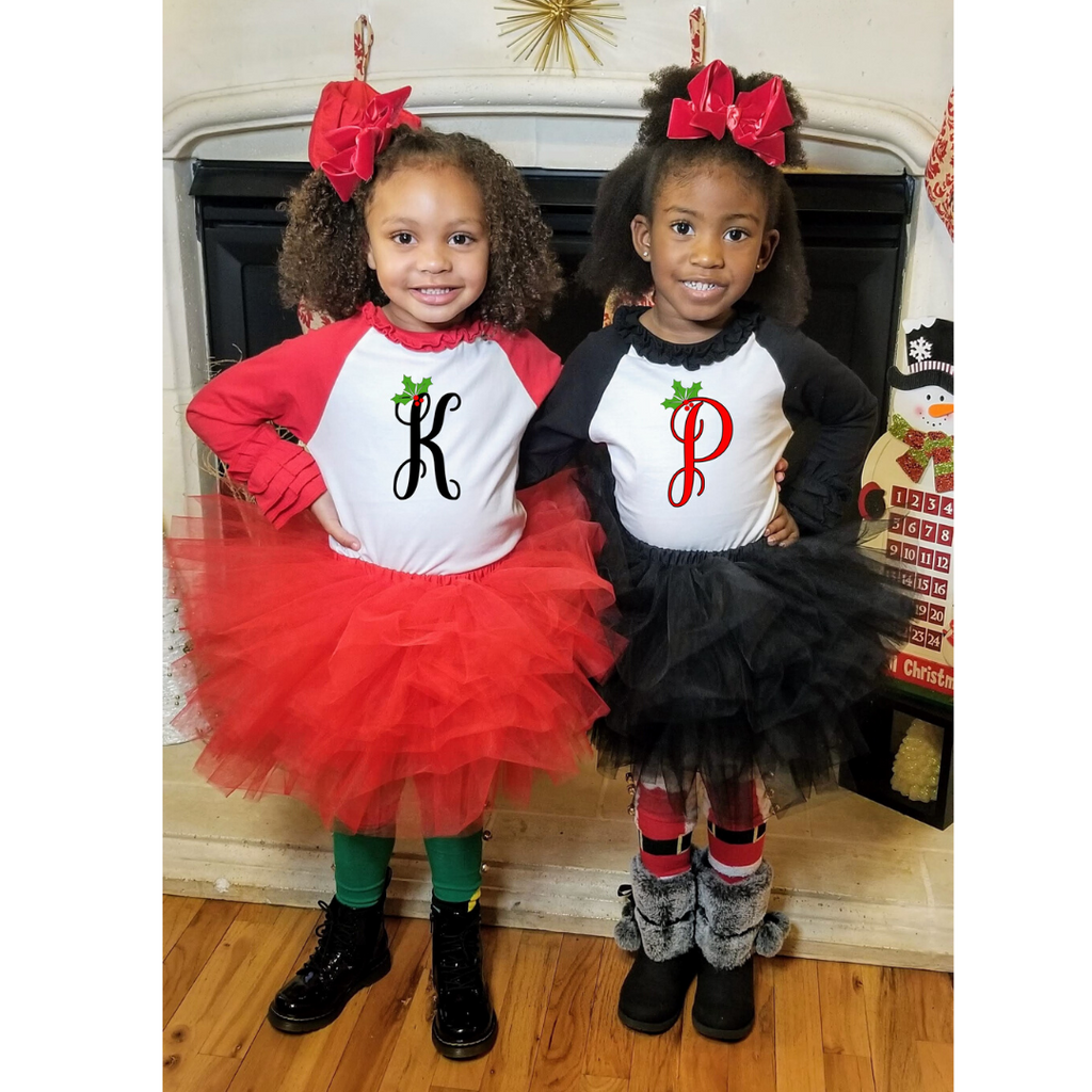 Poofy Tutu Skirts - Red or Black