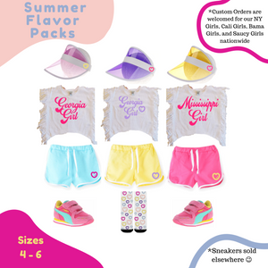 Summer Flavor Pack - 3pc Set, Lemon, Raspberry, or Grape