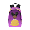 Custom Princess Backpack, Book bag, Travel bag, Add Your Princess Name