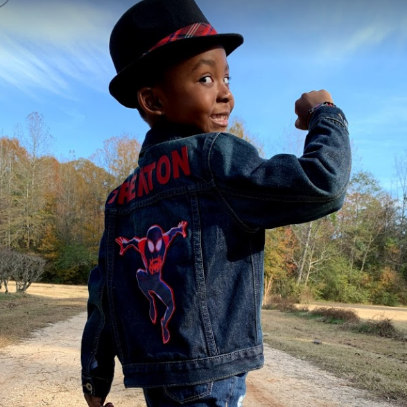 Custom Jean Jackets Boys - Sports, Superheros, Characters Sizes 5 - 16