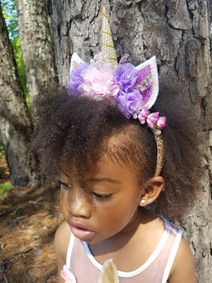 Magical Unicorn Birthday Party Headband