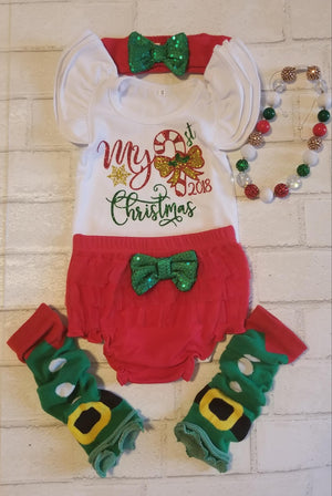 My First Christmas Outfit, Infants - 12M
