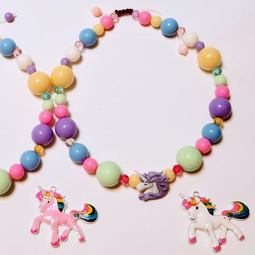 Unicorn Beaded Necklace