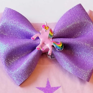 Sparkly Glitter Unicorn Hairbows