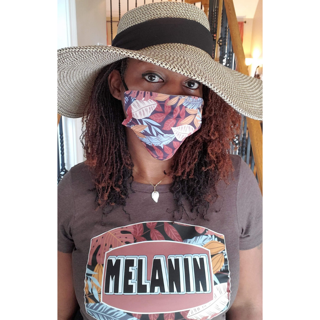 Ladies Melanin Tees and Optional Masks