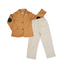 2 Piece Smoked Salmon Blazer Pants Set
