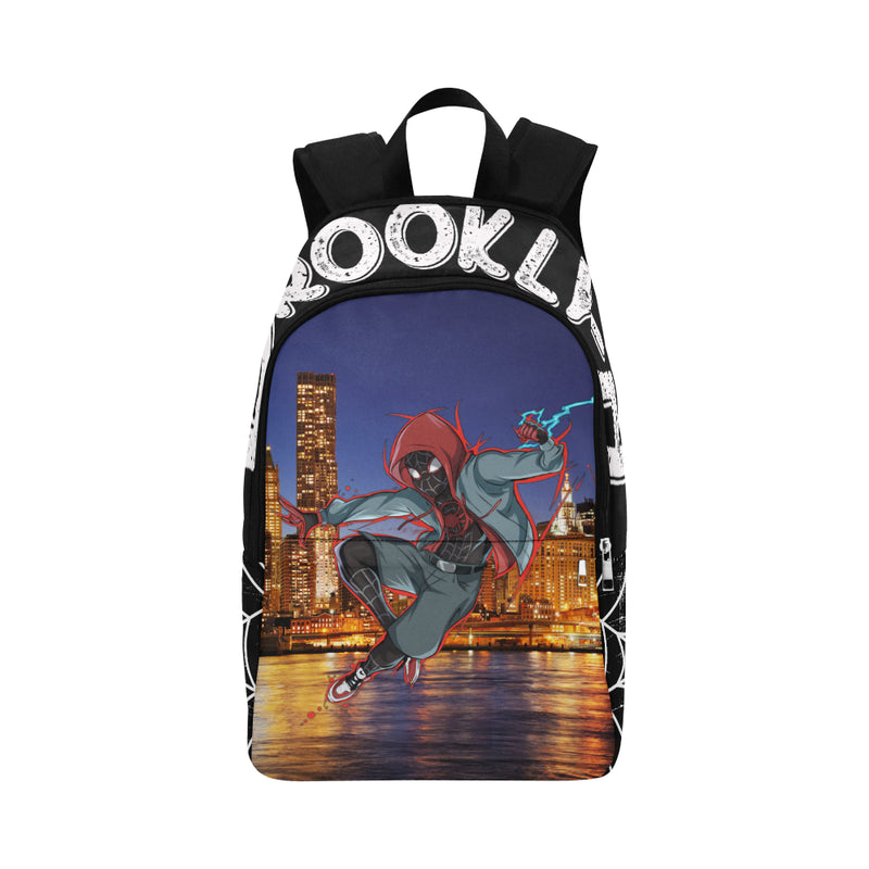 Miles Morales Spidey Backpack, Book bag, Travel bag, Brooklyn, Add Your Name