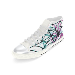 SpiderGirl High Top Sneakers, Big Kids Size 2-6