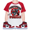 Miles Morales or Peter Parker Spiderman Raglan Birthday Shirt
