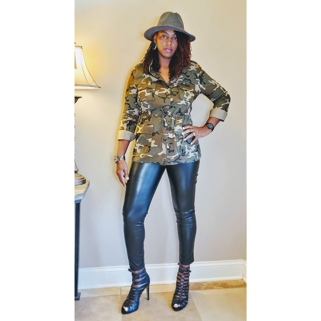 Ladies Camo Jacket