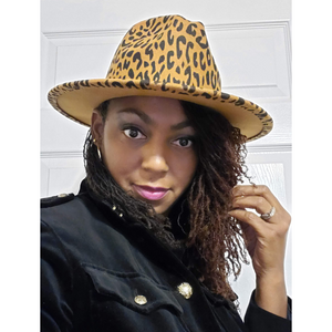 Ladies Grown and Flossy Wool Fedora