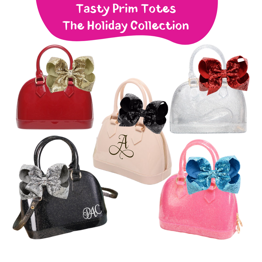 Tasty Prim Holiday Totes - Blushing Bordeaux