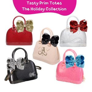 Tasty Prim Holiday Totes - Pink Passion