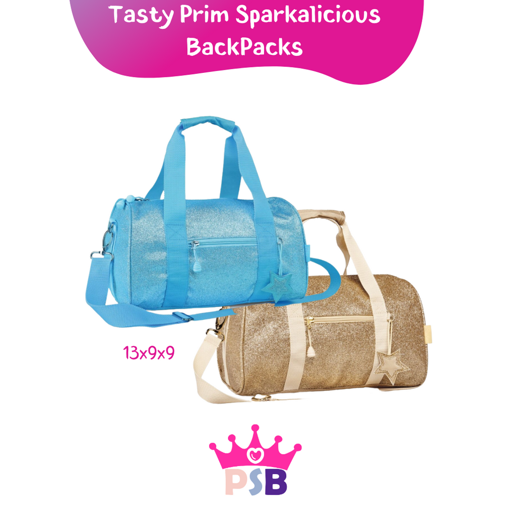 Tasty Medium Duffles - 2 Sparkalicious Colors