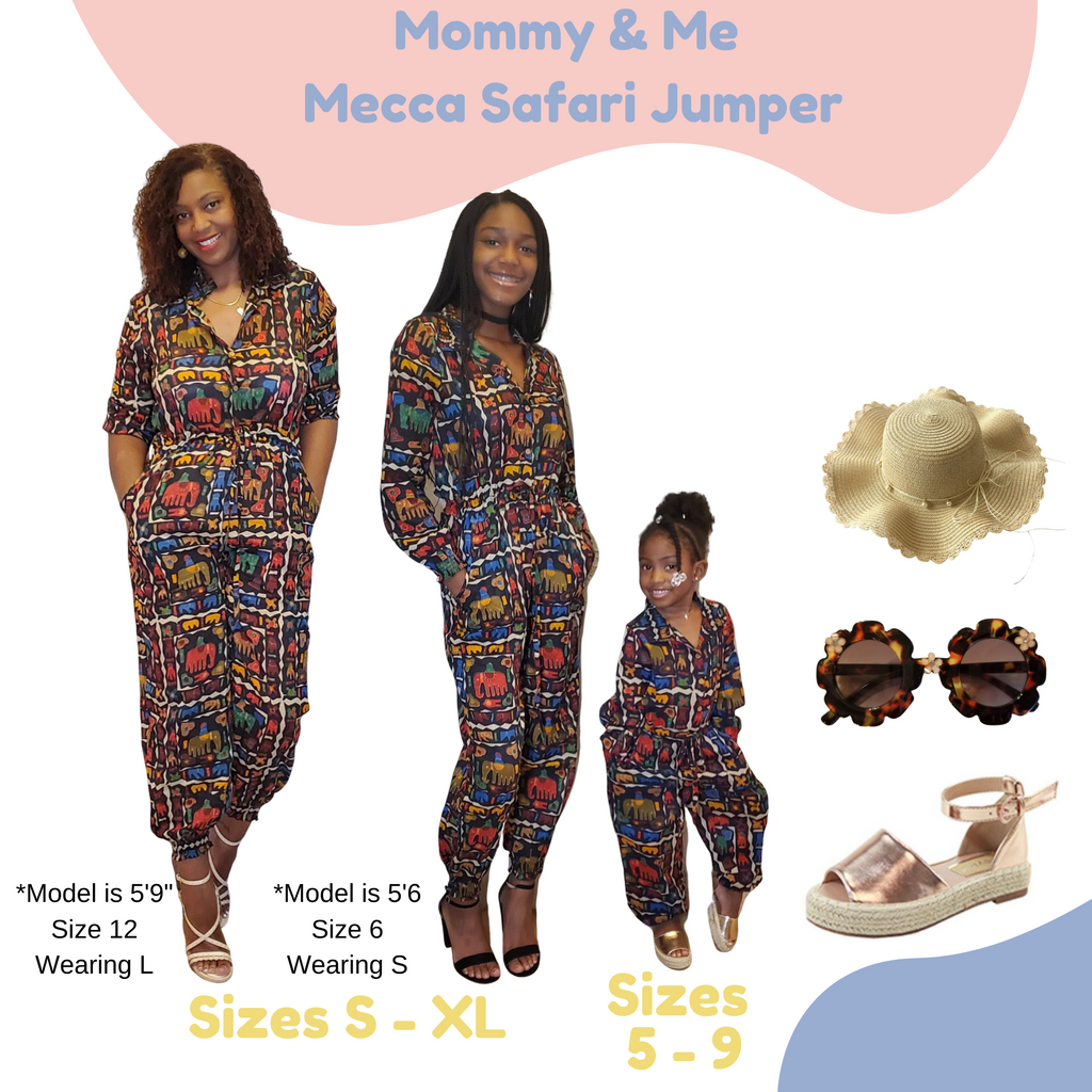 Mecca Safari Jumper - Mommy & Me