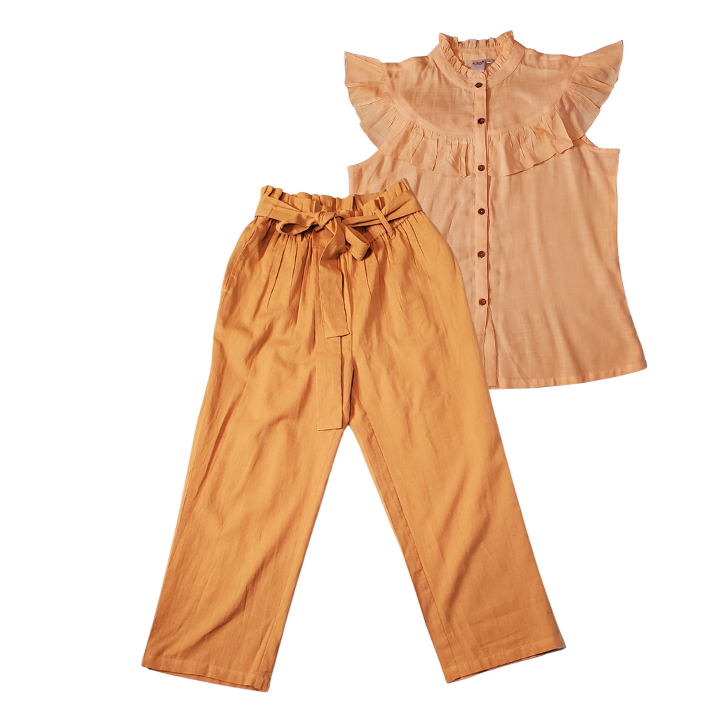 Mommy's Brown Paper Sack Pants