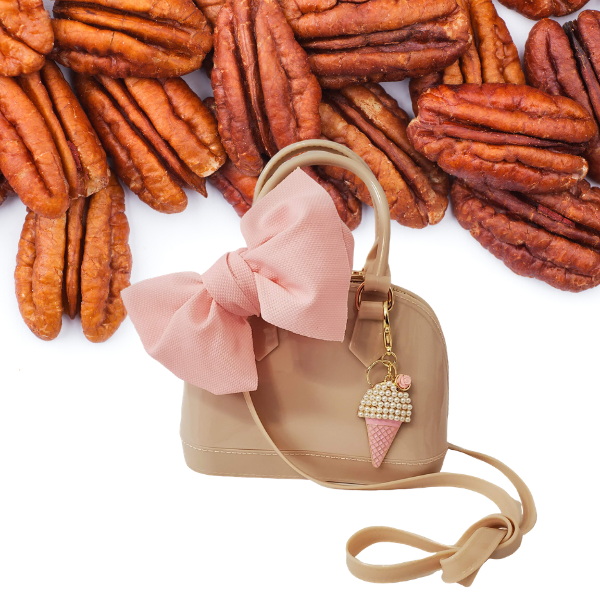 Butter Pecan Jelly Satchel Tote