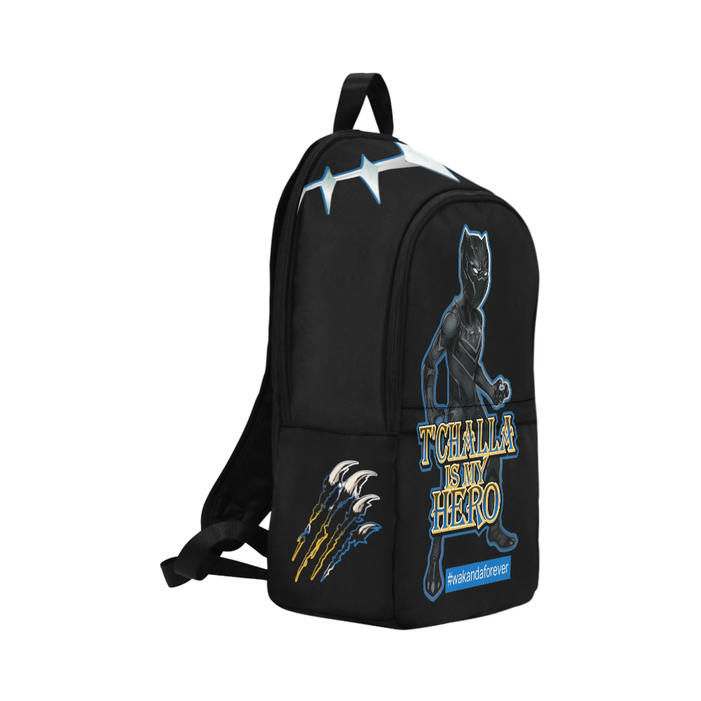 King T'Challa Backpack, Book bag, Travel Bag, Sports Bag