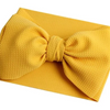 Marigold Big Bow Fabric Headwrap, Turban, Headband
