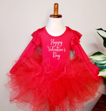 Valentine's Day Tutu Dress