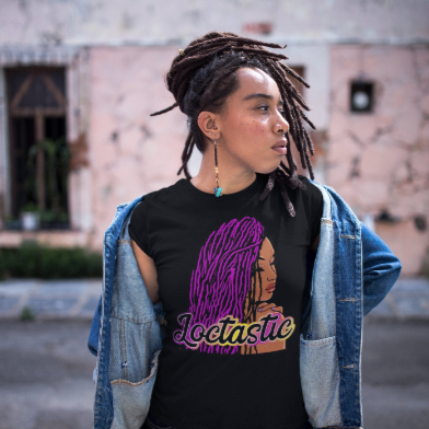 Loctastic Ladies' T-shirt Sisterlocks, Dreadlocks, Natural Locs, Locs, Natural Hair, Loc Journey, Loc Nation, Loc Society