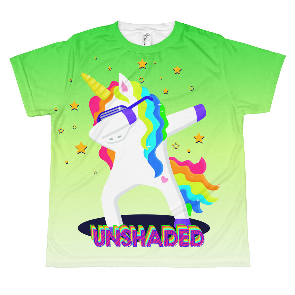 Unshaded Unicorn All-over youth sublimation T-shirt