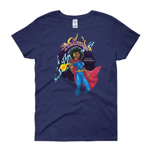 Black Girl Superhero T-shirt