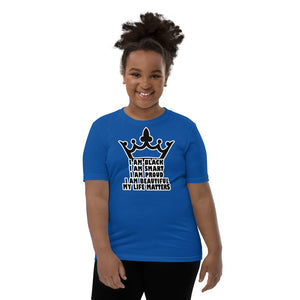 Girls My Life Matters Youth Short Sleeve T-Shirt, Sizes S- XL