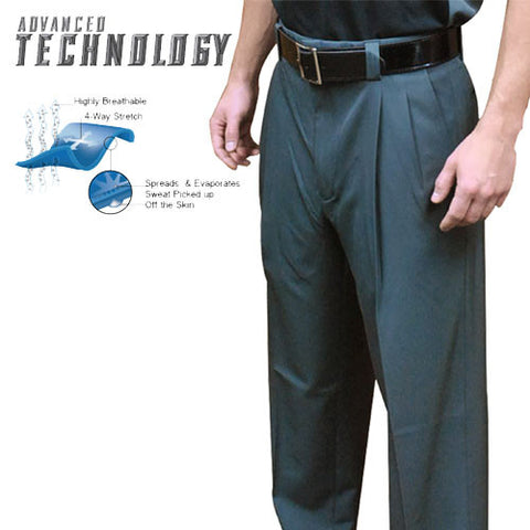 NEW! SMITTY ADVANCED TECH 4-WAY STRETCH CHARCOAL PLATE PANTS