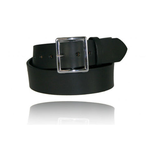 "BOSTON LEATHER 1 3/4"" LEATHER BELT"