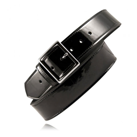 "BOSTON LEATHER 1 3/4"" PREMIUM PATENT LEATHER BELT"