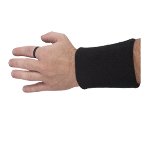 BLACK WRISTBAND DOWN INDICATOR
