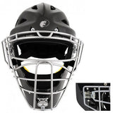 FORCE 3 DEFENDER BLACK HOCKEY STYLE MASK - BLACK CAGE OR SOLVER CAGE
